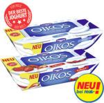 Danone Oikos Joghurt nach griechischer Art versch. Sorten, jede 2 x 125 g = 250-g-Packung
