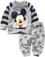 Mickey Mouse Langarmshirt und Hose