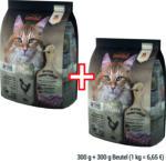 Bewital Leonardo Adult Grain Free Maxi, 300 g + 300 g Beutel gratis