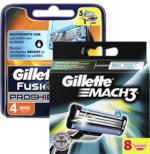 Gillette Mach3 oder ProShield Rasierklingen jede 4er/8er-Packung