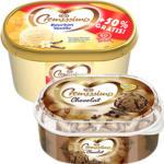 Langnese Cremissimo Eis Vanille + 50 % gratis = 1.500 ml oder Schokolade * * * 900 ml,   jede Packung und weitere Sorten