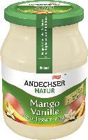 """Fruchtjogurt """"Mango Vanille"""""""