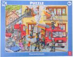 Rahmenpuzzle Feuerwehreinsatz