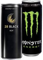 28 BLACK Energydrink* 250 ml oder Monster Energydrink* (*koffeinhaltig), versch. Sorten, jede Dose