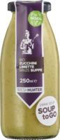 """Suppe """"Zucchini-Limette-Minze"""""""