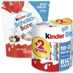 Duplo, Kinderriegel 18er + 2 gratis oder Kinder Schoko Bons jede 364/420/300-g-Packung