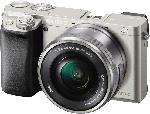 Systemkameras - Sony Alpha-6000L Systemkamera 24.3 Megapixel mit Objektiv 16-50 mm f/5.6, 7.5 cm Display , WLAN