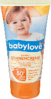 Sonnencreme sensitive LSF 50+