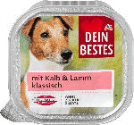 Nassfutter für Hunde mit Kalb & Lamm, klassisch
