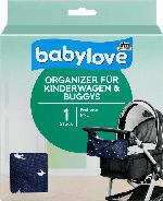 babylove Organizer für Kinderwagen & Buggys, blau