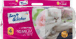 Toilettenpapier Premium 4-lagig, 10x160 Bl