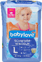 babylove Schwimm-Windeln Größe L, ab 12 kg
