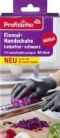 Einmal-Handschuhe latexfrei schwarz