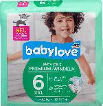 babylove Windeln Premium aktiv plus Größe 6, XXL 16-30kg
