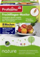 Profissimo Fruchtfliegen-Monitor Set 1 Fl. + 4 Fallen