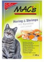 Katzen - MAC's Hering und Shrimps