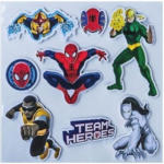 3D-Sticker Spiderman