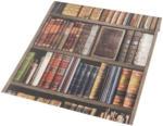 Papiertapete Bücherregal