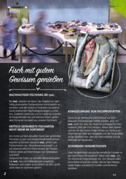 Fischmarkt - Genuss aus Meer und Fluss.
