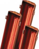 Karibu Infrarot Rückenstrahler-Set eViva 1x350 Watt Strahler