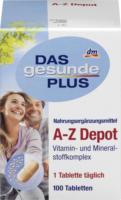 DAS gesunde PLUS A-Z Depot Tabletten