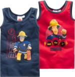 2 Feuerwehrmann Sam Unterhemden