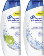 head & shoulders Shampoo versch. Sorten, jede 200-ml-Flasche