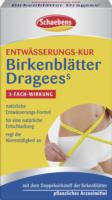 Schaebens Birkenblätter Dragees S Entwässerungs-Kur