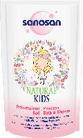 Sanosan Badezusatz Natural Kids Prinzessinen Bad
