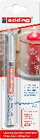 Edding 751 Glanzlack-Marker - weiß, 1-2 mm