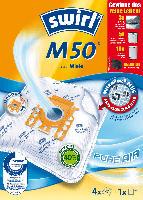 Swirl Staubsaugerbeutel M50 MicroPor Plus inkl. 1 Filter