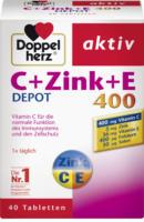 Doppelherz Vitamin C 400 + Zink + Vitamin E Depot Tabletten