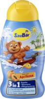SauBär 3in1 Dusche + Shampoo + Pflegespülung