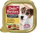 Dein Bestes Tafelfreude Nassfutter für Hunde mit Huhn, Tomaten & Basilikum