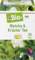 dmBio Matcha & Kräuter Tee 20x2g