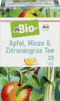 dmBio Apfel, Minze & Zitronengras Tee 20x2g