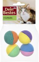 Dein Bestes Zubehör für Katzen, Soft-Bälle