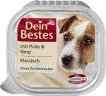 Dein Bestes Nassfutter für Hunde mit Pute & Rind, klassisch