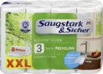 Saugstark&Sicher Recycling Küchentücher XXL, 8x102 Halb-Blatt (8x51 Blatt)