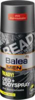 Balea MEN Deo Body Spray Deodorant ready!