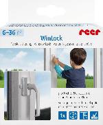 Reer Fenster- und Balkontürsicherung WinLock, weiß