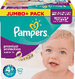 Pampers Windeln Active Fit Größe 4+ Maxi Plus, 9-18 kg, Jumbo+ Pack