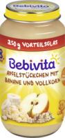 Bebivita Frucht & Getreide Apfelstückchen mit Banane und Vollkorn ab 8. Monat