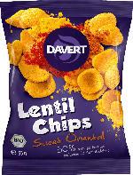 Davert Lentil Chips Sweet Oriental