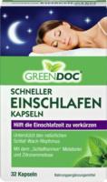 Green Doc Schneller Einschlafen Kapseln