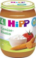 Hipp Gemüse-Risotto nach dem 4. Monat