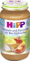 Hipp Menü Tomaten und Kartoffeln mit Bio-Hühnchen ab 10. Monat