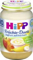 Hipp Früchte-Duett Joghurt auf Früchten ab 10. Monat