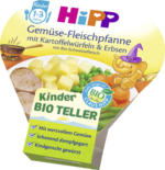Hipp Kinderteller Gemüse-Fleischpfanne mit Kartoffelwürfeln & Erbsen ab 1 Jahr