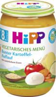 Hipp Menü vegetarisch Bunter Kartoffel-Auflauf ab 8. Monat